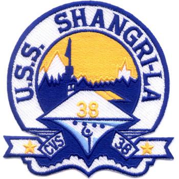 USS Shangri-La CVS-38 Patch