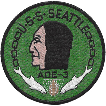 USS Seattle AOE-3 Fast Combat Support Ship Patch