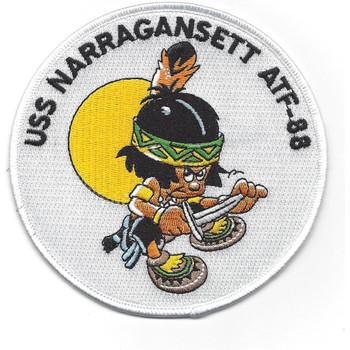 U.S.S Narragansett ATF-88 Fleet Tug Ship Patch