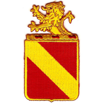 35th Field Artillery Regiment Patch