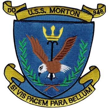USS Morton DD-948 Patch