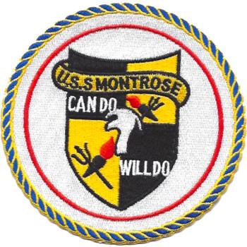 USS Montrose APA-212 Patch