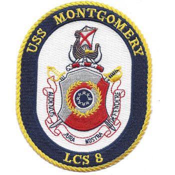 USS Montgomery LCS-8 Patch