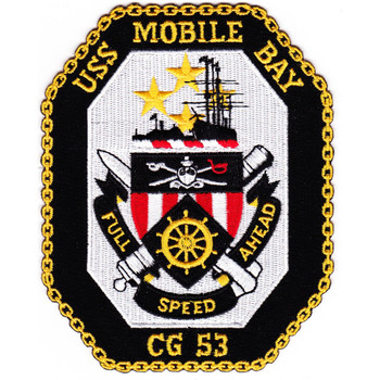 USS Mobile Bay CG-53 Patch