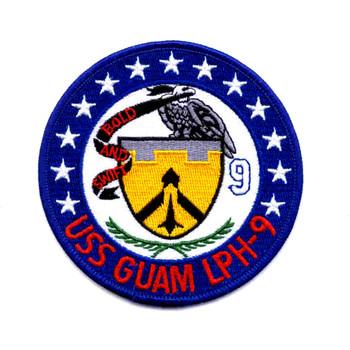 USS Guam LPH-9 Patch - Version B