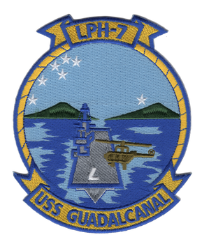 USS Guadalcanal LPH-7 Patch