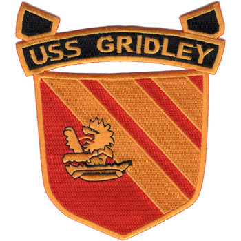 USS Gridley CG-21 Patch