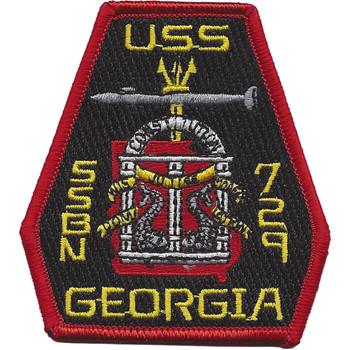 USS Georgia SSBN 729 Ballistic Missile Submarine Small Patch