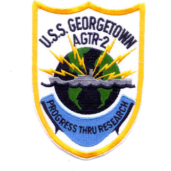 USS Georgetown AGTR-2 Patch
