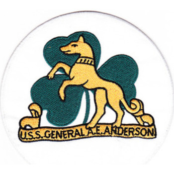 USS General A. E. Anderson APA-111 Patch