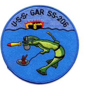 USS Gar SS-206 Patch