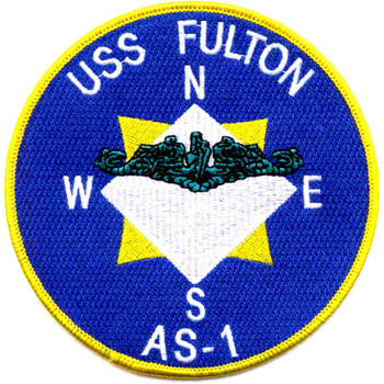 USS Fulton AS-1 Patch
