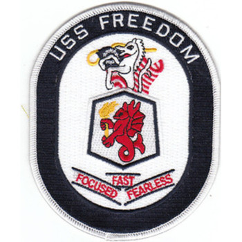 USS Freedom LCS-1 Patch