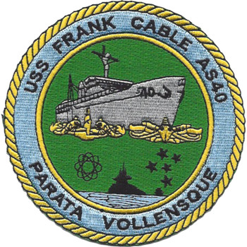 USS Frank Cable AS-40 Patch