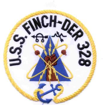 USS Finch DER-328 Patch