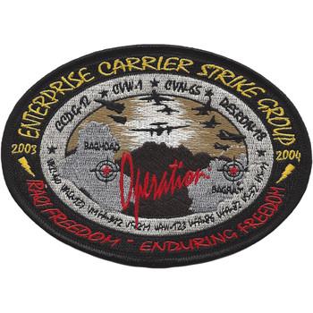 USS Enterprise Carrier Strike Group 2003-2004 Patch