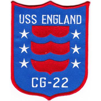 USS England CG-22 Patch