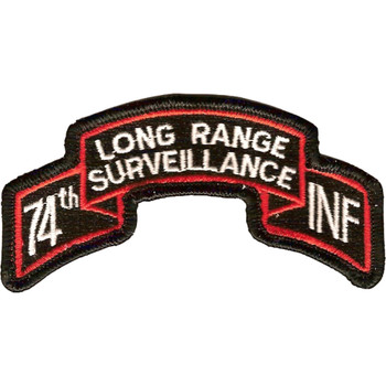 74th LRS Infantry Patch