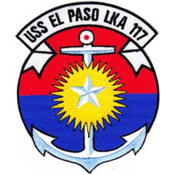 USS El Paso LKA-117 Patch