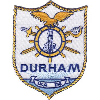 USS Durham LKA-114 Patch