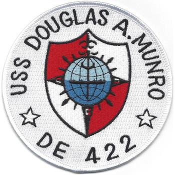 USS Douglas A Munro DE-422 MOH Patch