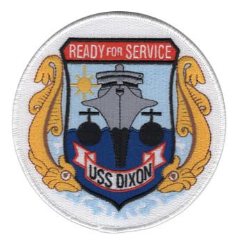 USS Dixon AS-37 Patch