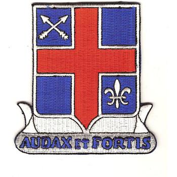 74th Infantry Regiment Patch 71st Infantry Regiment Patch Audax Et Fortis