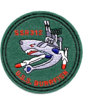USS Burrfish SSR-312 Small Patch