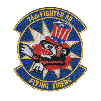 74th Fighter Squadron A-10 Patch Flying Tigers