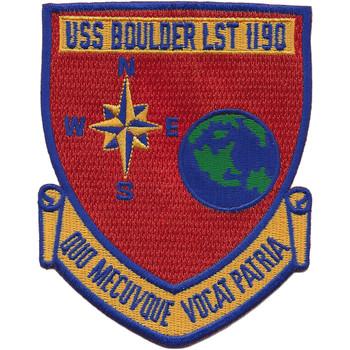 USS Boulder LST-1190 Patch