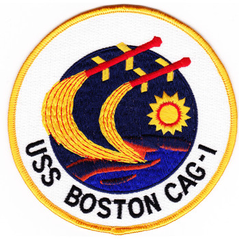USS Boston CAG-1 Patch