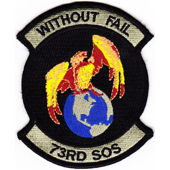 73rd SOS Special Operations Squadron Patch