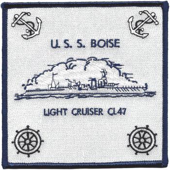 USS Boise CL 47 Light Cruiser Ship Patch