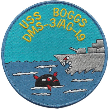USS BOGGS DMS-3/AG-19 Patch