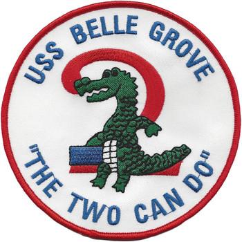 USS Belle Grove LSD-2 Dock Landing Ship Patch