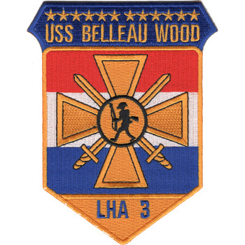 USS Belleau Wood LHA-3 Patch