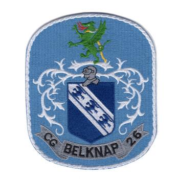 USS Belknap CG-26 Patch