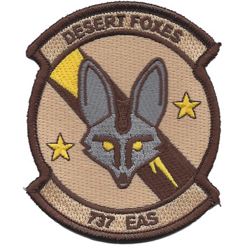 737th Expeditionary Airlift Squadron Patch