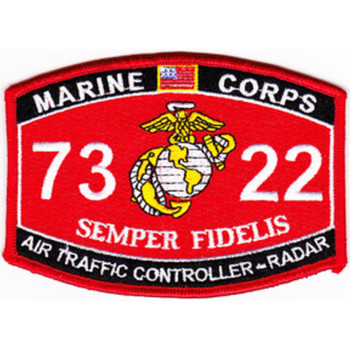7322 Air Traffic Controller-Radar MOS Patch