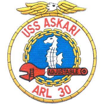 USS Askari ARL-30 Patch