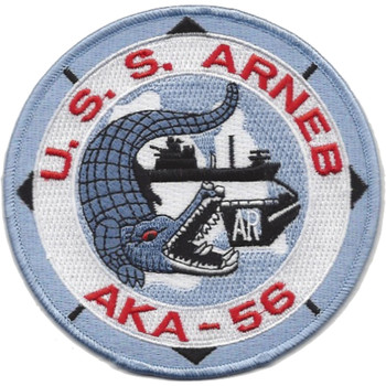 USS Arneb AKA-56 Attack Cargo Ship Patch