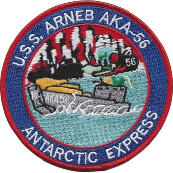 USS Arneb AKA-56 Attack Cargo Ship Antarctic Express Patch