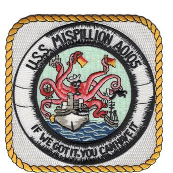 USS Mispillion AO-105 Ashtabula Class Oiler Ship Patch