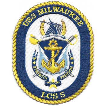 USS Milwaukee LCS-5 Patch