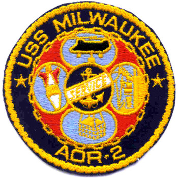 USS Milwaukee AOR-2 Patch