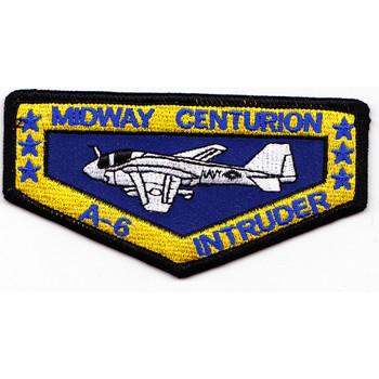 USS Midway CV-41 A-6 Intruder Centurion Patch