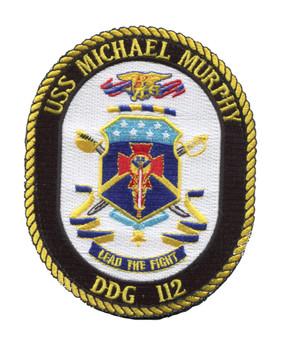 USS Micheal Murphy patch image