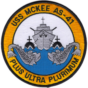 USS Mckee AS-41 Patch