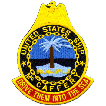 USS McCaffery DD-860 Patch
