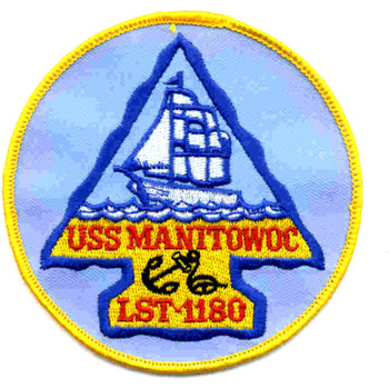 USS Manitowoc County LST-1180 Patch
